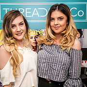 Beckie hart @beckiehart_ & Danielle Potter @ohdannie attends the Threads & Co Beauty launches permanent retail concept store everything from coffee to beauty to retail therapy on 24th May 2017. by See Li