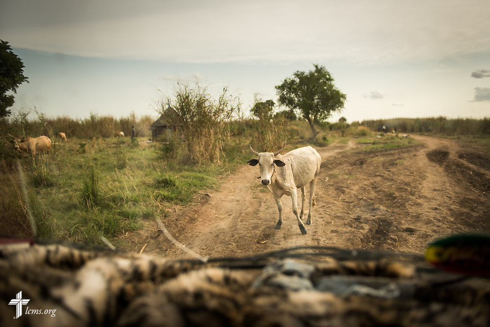A road is blocked on Wednesday, Sept. 23, 2015, at the Leitchour Refugee Camp outside Gambela, Ethiopia. LCMS Communications/Erik M. Lunsford