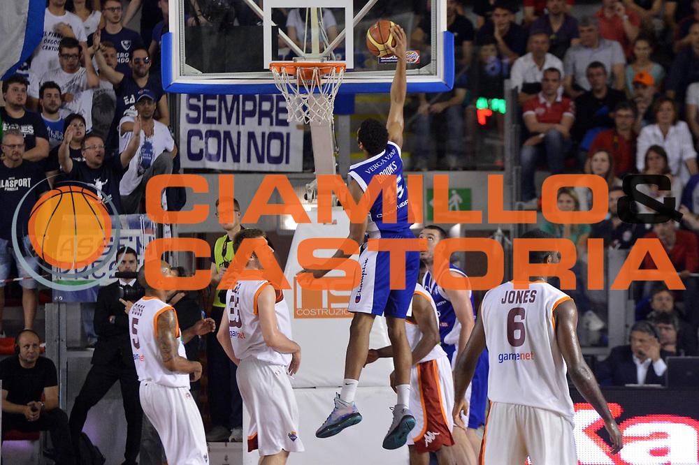 DESCRIZIONE : Roma Lega A 2012-2013 Acea Roma Lenovo Cantu playoff semifinale gara 5<br /> GIOCATORE : Jeff Brooks <br /> CATEGORIA : Schiacciata Sequenza Controcampo<br /> SQUADRA : Lenovo Cantu <br /> EVENTO : Campionato Lega A 2012-2013 playoff semifinale gara 5<br /> GARA : Acea Roma Lenovo Cantu<br /> DATA : 02/06/2013<br /> SPORT : Pallacanestro <br /> AUTORE : Agenzia Ciamillo-Castoria/GiulioCiamillo<br /> Galleria : Lega Basket A 2012-2013  <br /> Fotonotizia : Roma Lega A 2012-2013 Acea Roma Lenovo Cantu playoff semifinale gara 5<br /> Predefinita :