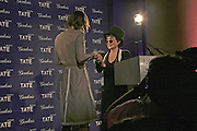 Tomma Abts and Yoko Ono, Turner Prize 2006. Tate Gallery. London. 4 December 2006. ONE TIME USE ONLY - DO NOT ARCHIVE  © Copyright Photograph by Dafydd Jones 248 CLAPHAM PARK RD. LONDON SW90PZ.  Tel 020 7733 0108 www.dafjones.com