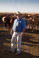 Brunette Downs Cattle Station is situated on the Barkley tablelands in Australia's Northern Territory. One of Australia's largest cattle stations..Henry Burke mananger of Brunette Downs station.