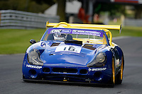 #16 Neil Sampson TVR Tuscan Challenge 7000 during the CNC Heads Sports & Saloon Car Championship at Oulton Park, Little Budworth, Cheshire, United Kingdom. August 06 2016. World Copyright Peter Taylor/PSP.