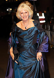 The Duchess of Cornwall arriving at the  Royal Variety Performance at the London Palladium Theatre in London, Monday, 25th November 2013. Picture by Stephen Lock / i-Images