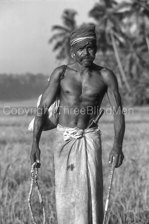 Coconut plucker. Slide film. Before I had didgital&hellip;so pre 2004?<br /> Not far from Colombo, probably inland from Mahargama or so.