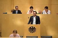 DEU, Deutschland, Germany, Berlin, 21.09.2018: Der neue Umweltminister von Schleswig-Holstein, Jan Philipp Albrecht (Die Grünen), bei seiner ersten Rede im Bundesrat.
