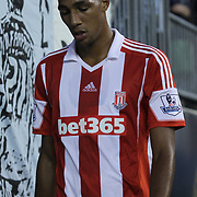 Stoke City F.C. Midfielder STEVEN N'ZONZI (15) is seen leaving the field in the second half of a MLS regular season international friendly match against the Philadelphia Union Tuesday, July. 30, 2013 at PPL Park in Chester PA.