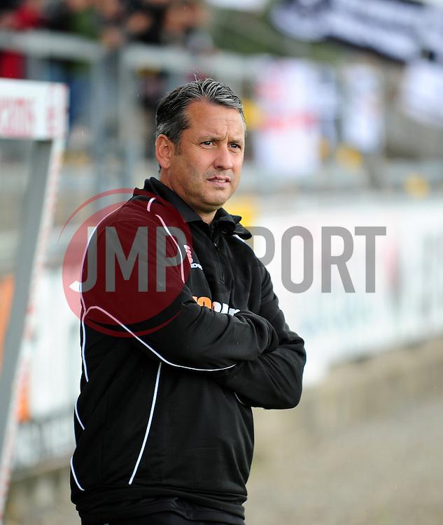 AFC Telford Manager, Liam Watson - Photo mandatory by-line: Neil Brookman - Mobile: 07966 386802 23/08/2014 - SPORT - FOOTBALL - Bristol - Memorial Stadium - Bristol Rovers v AFC Telford - Vanarama Football Conference