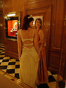 Anastasia  Gorbachev  and Princess Nina Soutzo, Crillon 2004 Debutante Ball. Crillon Hotel. Paris. 26 November 2004. ONE TIME USE ONLY - DO NOT ARCHIVE  © Copyright Photograph by Dafydd Jones 66 Stockwell Park Rd. London SW9 0DA Tel 020 7733 0108 www.dafjones.com