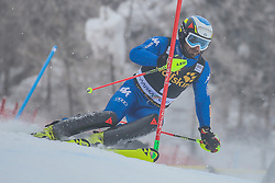 Manfred Moelgg (ITA) during 1st run of Men's Slalom race of FIS Alpine Ski World Cup 57th Vitranc Cup 2018, on March 4, 2018 in Kranjska Gora, Slovenia. Photo by Ziga Zupan / Sportida