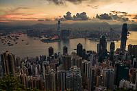 Early Morning in Hong Kong