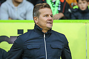 Forest Green Rovers manager, Mark Cooper during the EFL Trophy match between Forest Green Rovers and Cheltenham Town at the New Lawn, Forest Green, United Kingdom on 4 September 2018.