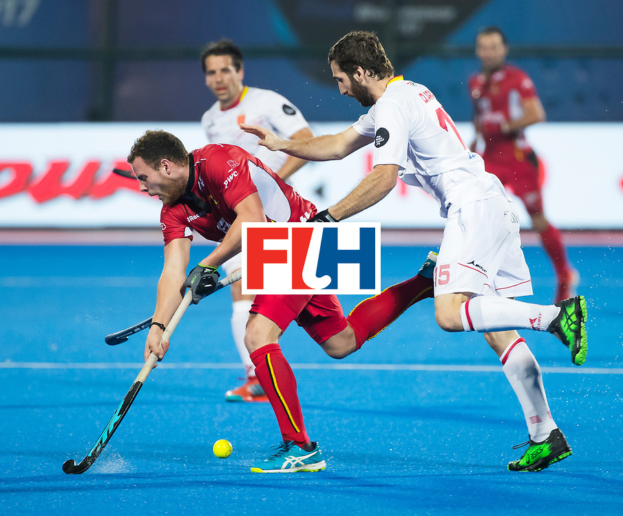 BHUBANESWAR - Diego Arana (Esp)  Hockey World League finals , wedstrijd om de 5e plaats. Belgie-Spanje.  COPYRIGHT KOEN SUYK
