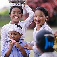 Bali, villagers