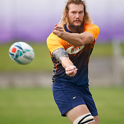TOKYO, JAPAN - OCTOBER 15: RG Snyman during the South African national rugby team training session at Fuchu Asahi Football Park on October 15, 2019 in Tokyo, Japan. (Photo by Steve Haag/Gallo Images)
