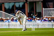 Paul Stirling of Middlesex batting during the Specsavers County Champ Div 2 match between Middlesex County Cricket Club and Glamorgan County Cricket Club at Radlett Cricket Ground, Radlett, Herfordshire,United Kingdom on 17 June 2019.