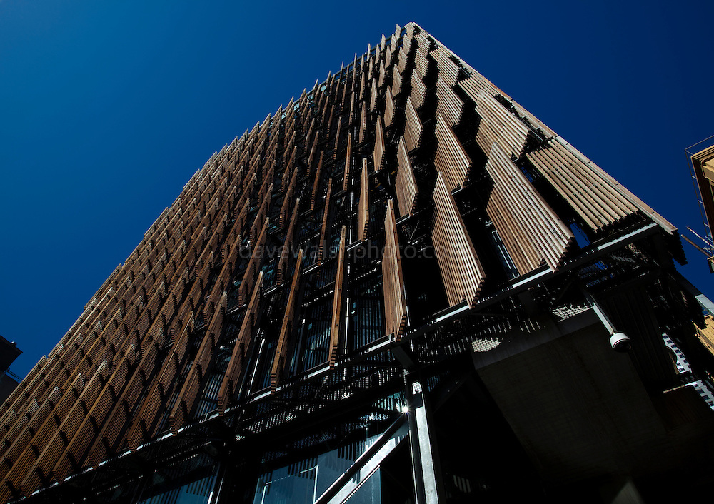 Council House 2, Swanston St. Melbourne, the first new commercial office building in Australia to meet and exceed the six star rating system administered by the Green Building Council of Australia.