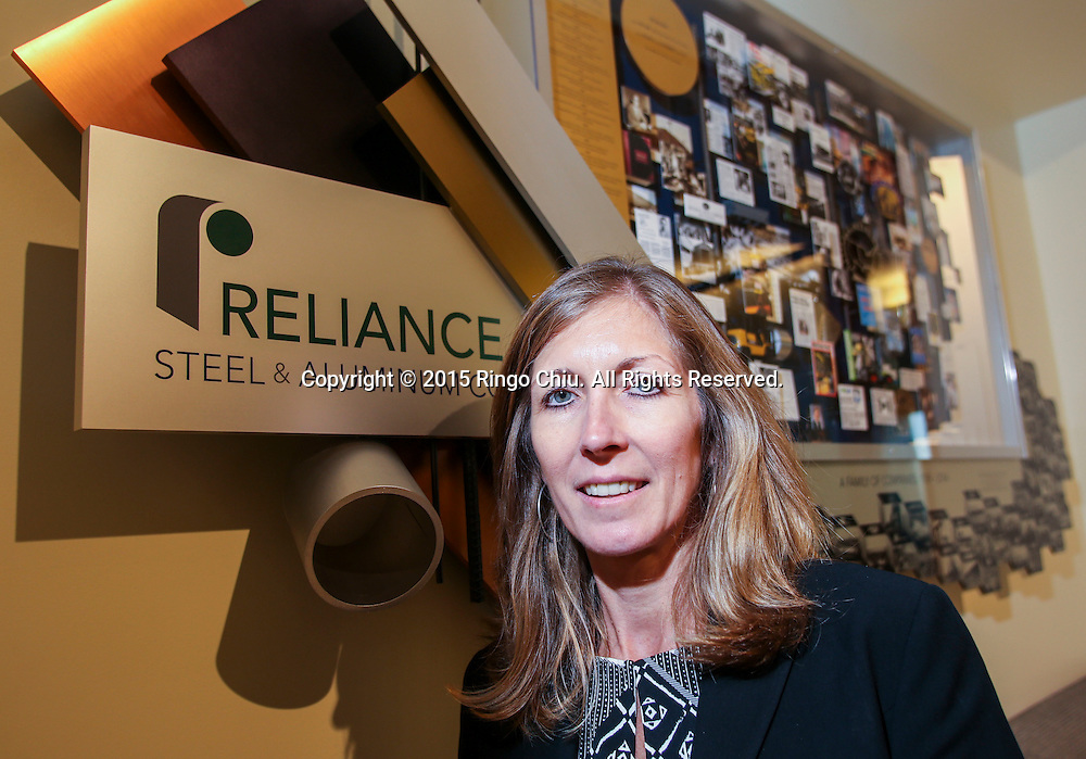 Karla Lewis, chief financial officer of Reliance Steel &amp; Aluminum Co.<br /> (Photo by Ringo Chiu/PHOTOFORMULA.com)<br /> <br /> Usage Notes: This content is intended for editorial use only. For other uses, additional clearances may be required.