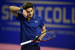 February 8, 2018 - Montpellier, France, France - Pierre Hugues Herbert  (Credit Image: © Panoramic via ZUMA Press)