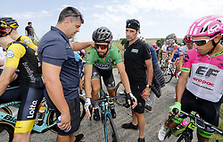 July 24, 2018 - Bagneres De Luchon, France - BAGNERES-DE-LUCHON, FRANCE - JULY 24 :  SAGAN Peter (SVK) of Bora - Hansgrohe during stage 16 of the 105th edition of the 2018 Tour de France cycling race, a stage of 218 kms between Carcassonne and Bagneres-De-Luchon on July 24, 2018 in Bagneres-De-Luchon, France, 24/07/2018 (Credit Image: © Panoramic via ZUMA Press)