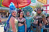 Mermaid Parade Coney Island New York, June 17 2018