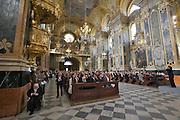Brixen. Festive mass at the Brixen Dome.