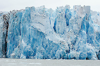 Face of Dawes Glacier in Endicott Arm in Tracy Arm-Fords Terror Wilderness in Southeast Alaska.