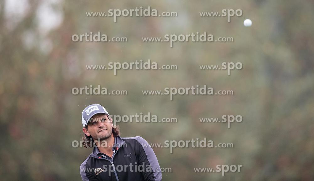 26.09.2015, Beckenbauer Golf Course, Bad Griesbach, GER, PGA European Tour, Porsche European Open, im Bild Johan Edfors (SWE) // during the European Tour, Porsche European Open Golf Tournament at the Beckenbauer Golf Course in Bad Griesbach, Germany on 2015/09/26. EXPA Pictures © 2015, PhotoCredit: EXPA/ JFK