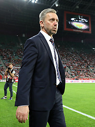 Poland manager Jerzy Brzeczek during the International Friendly at the Stadion Miejski, Wroclaw.