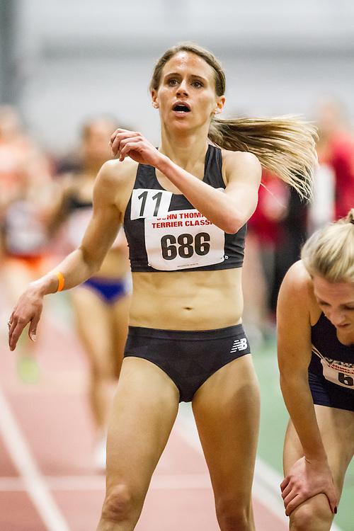 Women's Mile, New Balance, Liz Costello, Boston University John Terrier Invitational Indoor Track and Field