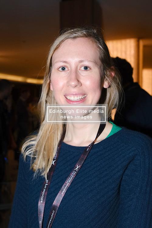 "Edinburgh International Film Festival 2019<br /> <br /> Pictured: ""Love Type D"" Director Sasha Collington <br /> <br /> Alex Todd | Edinburgh Elite media"