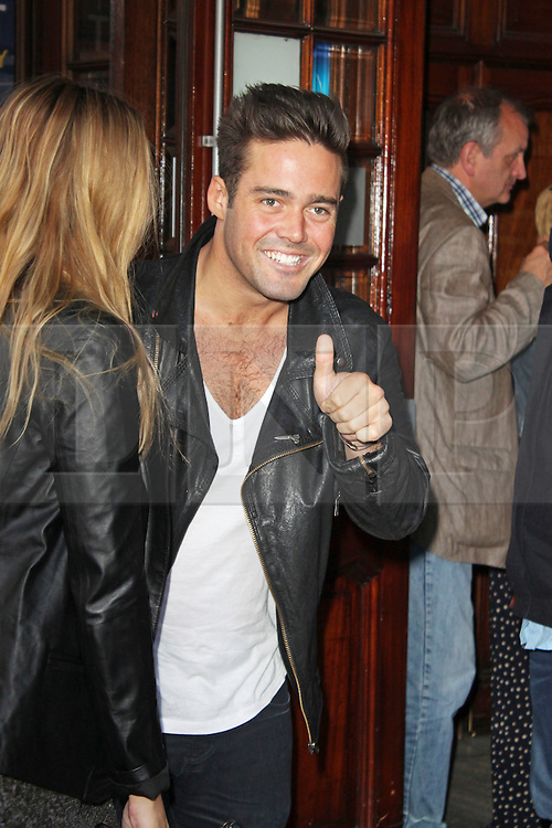 © Licensed to London News Pictures. 01/07/2013. London, UK. Spencer Matthews at the A Curious Night at the Theatre - Gala Evening. Photo credit: Brett D. Cove/LNP