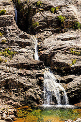 The meeting of the Three Waters waterfall in Glencoe, Highlands of Scotland<br /> <br /> (c) Andrew Wilson   Edinburgh Elite media