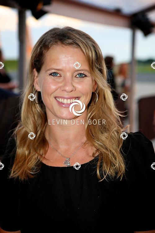KATWIJK - Op vliegbasis Valkenburg hield Soldaat van Oranje een tweede premiere ter gelegenheid van een nieuwe Cast.  Met op de foto Babette van Veen. FOTO LEVIN DEN BOER - PERSFOTO.NU
