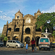 Church of San Juan Del Monte, first built in 1602-1604 by Dominican Province of the most holy rosary, was burned during the Chinese uprising of 1639; rebuilt in 1641 was again set afire during British occupation in 1763 and finally constructed in its present state in 1774 to be used by the insurgent forces of the 1898 revolution. The sanctuary is the seat of the cofraternity of Santisimo Cristo De San Juan Del Monte approved by Pope Innocent X on 3/4/1648.