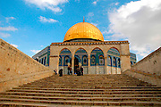 The dome of the rock, Jerusalem, Israel