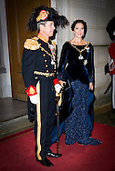 1-1-2016 - COPENHAGEN - Crownprince Frederik and Crownprincess Mary of Denmark arrive at the annual New Years reception in Amalienborg Palace in Copenhagen, Denmark , Danish royal family attend New Years reception 2016 COPYRIGHT ROBIN UTRECHT<br /> 2016/01/01 - KOPENHAGEN - Kroonprins Frederik en Crownprincess Mary van Denemarken aankomt op de jaarlijkse nieuwjaarsreceptie in Amalienborg in Kopenhagen, Denemarken, de Deense koninklijke familie wonen Nieuwjaarsreceptie 2016 COPYRIGHT ROBIN UTRECHT