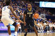 November 17, 2017 - Lexington, Kentucky - Rupp Arena: ETSU guard Desonta Bradford (1)<br /> <br /> Image Credit: Dakota Hamilton/ETSU