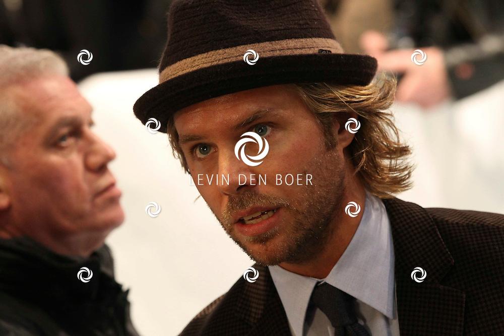 AMSTERDAM - Thijs Romer op de rode loper van de filmpremiere Dik Trom zondag in Amsterdam.  FOTO LEVIN DEN BOER - PERSFOTO.NU