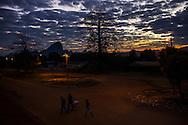 Sunrise in Maua, Maua District, Mozambique.