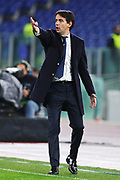 Lazio head coach Simone Inzaghi gestures during the UEFA Europa League, Group E football match between SS Lazio and CFR Cluj on November 28, 2019 at Stadio Olimpico in Rome, Italy - Photo Federico Proietti / ProSportsImages / DPPI