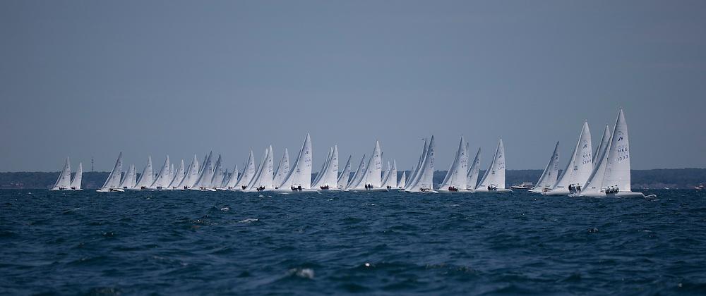 2014 Etchells Worlds, NYYC<br /> Newport, RI<br /> Practice day 6_24_14