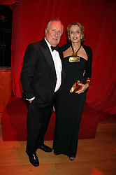 FREDERICK & SANDY FORSYTHE at a dinner held at the Natural History Museum to celebrate the re-opening of their store at 175-177 New Bond Street, London on 17th October 2007.<br /><br />NON EXCLUSIVE - WORLD RIGHTS