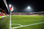 Griffin Park under the floodlights during the EFL Sky Bet Championship match between Brentford and Aston Villa at Griffin Park, London, England on 31 January 2017. Photo by Matthew Redman.