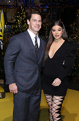 'Bumblebee' special fanscreening at Sony Center, Berlin, Germany, on December 3, 2018. 03 Dec 2018 Pictured: John Cena and Hailee Steinfeld and director Travis Knight attend a photo call in support of the Paramount Pictures film 'Bumblebee' at Sony Centre on December 3, 2018 in Berlin, Germany.John Cena and Hailee Steinfeld attend a photo call in support of Paramount Pictures film a Buumblebee at Sony Centre on December 3, 2018 in Berlin, Germany. Photo credit: MEGA TheMegaAgency.com +1 888 505 6342