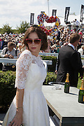 ANNA FRIEL, Glorious Goodwood. Thursday.  Sussex. 3 August 2013
