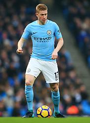Kevin De Bruyne of Manchester City - Mandatory by-line: Matt McNulty/JMP - 23/12/2017 - FOOTBALL - Etihad Stadium - Manchester, England - Manchester City v Bournemouth - Premier League