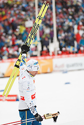 25.02.2015, Lugnet Ski Stadium, Falun, SWE, FIS Weltmeisterschaften Ski Nordisch, Falun 2015, Langlauf, Herren, 15km, im Bild JOHAN OLSSON // during the Mens 15km Cross Country Race of the FIS Nordic Ski World Championships 2015 at the Lugnet Ski Stadium in Falun, Sweden on 2015/02/25. EXPA Pictures © 2015, PhotoCredit: EXPA/ Newspix/ Radoslaw Jozwiak<br /> <br /> *****ATTENTION - for AUT, SLO, CRO, SRB, BIH, MAZ, TUR, SUI, SWE only*****