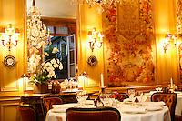 l'Ambroisie, Chef Bernard Pacaud, Place des Vosges, Paris....l'Ambroisie is a Michelin three star restaurant..............................