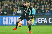 Marco Verratti of Paris Saint-Germain during the Champions League Round of 16 2nd leg match between Paris Saint-Germain and Manchester United at Parc des Princes, Paris, France on 6 March 2019.