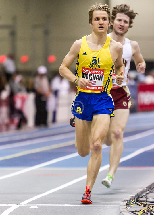 New Balance Indoor Grand Prix Track & FIeld:  men's Mile Steve Magnan BAA